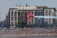 N841MP - Red Bull Air Race Budapest 2009 - Pete McLeod - by Juergen Postl