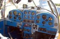 LN-SAO @ ENRY - A peek into the cockpit of a Saab Safir. - by Henk van Capelle