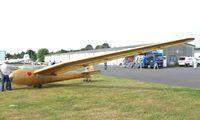 D-6048 @ EDKB - Jacobs / DFS Kranich II (built/reconstructed by the Osnabrücker Verein für Luftfahrt) at the Bonn-Hangelar centennial jubilee airshow - by Ingo Warnecke