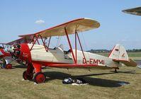 D-EMMI @ EDKB - Focke-Wulf Fw 44J Stieglitz at the Bonn-Hangelar centennial jubilee airshow - by Ingo Warnecke
