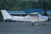 103 @ RPML - Cessna all White Scheme must belong to Air Force because wearing a Military Reg 103 - by The_Planespotter