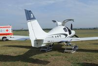 N10427 @ EDKB - Cessna LC41-550FG Corvalis TT at the Bonn-Hangelar centennial jubilee airshow - by Ingo Warnecke