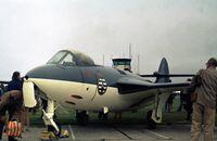 WF225 @ EGDR - Sea Hawk F.1 on display at the 1974 Culdrose Airshow. - by Peter Nicholson