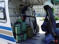 N108HP - Rear area emergency equipment - by Helicopterfriend