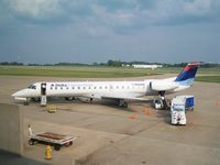 N562RP @ KEVV - At gate between Delta Connection/Chautauqua No. 6028 from KCVG and No. 6038 to KCVG - by Kurt M. Weber