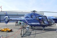 D-HSHD @ EDKB - Eurocopter EC 120B Colibri of the Bundespolizei (german federal police) at the Bonn-Hangelar centennial jubilee airshow - by Ingo Warnecke