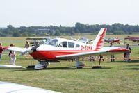 D-EDKB @ EDKB - Piper PA-28-235 Cherokee C at the Bonn-Hangelar centennial jubilee airshow - by Ingo Warnecke