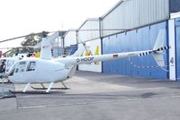 D-HOOP @ EDKB - Robinson R-44 Raven of Air Lloyd at the Bonn-Hangelar centennial jubilee airshow - by Ingo Warnecke