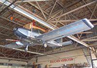 D-MTFW @ EDKB - Aerostyle Breezer in hangar during the Bonn-Hangelar centennial jubilee airshow - by Ingo Warnecke