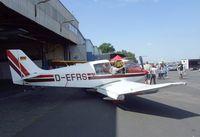 D-EFRS @ EDKB - Robin DR.400/120D Dauphin at the Bonn-Hangelar centennial jubilee airshow
