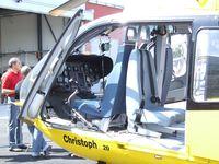 D-HDMA @ EDKB - Eurocopter EC135P2 of ADAC Luftrettung (EMS) at the Bonn-Hangelar centennial jubilee airshow
