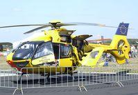 D-HDMA @ EDKB - Eurocopter EC 135P2 of ADAC Luftrettung (EMS) at the Bonn-Hangelar centennial jubilee airshow - by Ingo Warnecke