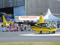 D-HALY @ EDKB - Robinson R-44 Raven II of Air Lloyd at the Bonn-Hangelar centennial jubilee airshow - by Ingo Warnecke