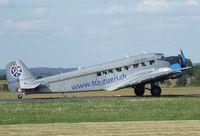HB-HOY @ EDKB - CASA 352 A-3 (license built Junkers Ju 52/3m) of JuAir at the Bonn-Hangelar centennial jubilee airshow
