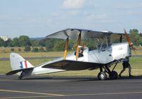 G-APIH @ EDKB - DeHavilland D.H.82A Tiger Moth at the Bonn-Hangelar centennial jubilee airshow