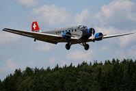 HB-HOT @ LOAB - 1939 Junkers Flugzeugbau JU-52/3m g4e, c/n: 6595 at Dobersberg Airshow 09 - by Jetfreak