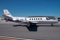 S5-BAX @ VIE - Cessna 550 Citation 2