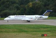 D-ACRI @ EGBB - Eurowings CRJ-200 at Birmingham UK - by Terry Fletcher