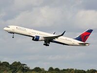 N717TW @ EGCC - Delta Airlines - by Chris Hall