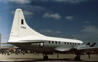 51-7892 @ GREENHAM - Convair VT-29B on display at the 1973 Intnl Air Tattoo at RAF Greenham Common. - by Peter Nicholson
