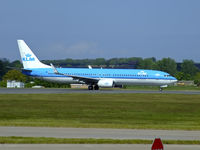 PH-BXP @ EGPH - KLM1280 About to depart runway 06 for AMS - by Mike stanners