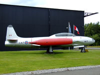 21417 @ EGYK - CT-133A Silver star on display at the Yorkshire air museum - by Mike stanners