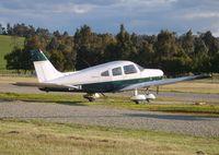VH-ITE @ YCEM - Piper Warrior II VH-ITE, Coldstream Airfield