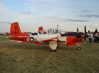 161024 @ KOSH - Beech T-34C - by Mark Pasqualino