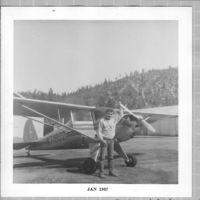 N71802 @ 2O1 - Luscombe N71802 at Quincy, California - by Jack Hopkins