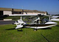 VH-DRU @ YMMB - Amateur built Searey at Moorabbin Airport.