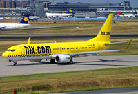 D-AHFS @ EDDF - Yellow Cab on the way to Rwy 18W - by The_Planespotter