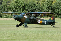OO-HBQ @ EBDT - Diest old timer fly in
