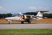 1136 @ EHVK - Saab J-105A Austria Airforce - by Jan Lefers