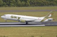 TC-SKM @ EDDR - SKY B737-400 departing EDDR destination Antalya