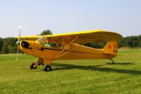 N70895 @ IA27 - At the Antique Airplane Association Fly In - by Glenn E. Chatfield