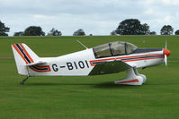 G-BIOI @ EGBK - Visitor to the 2009 Sywell Revival Rally - by Terry Fletcher