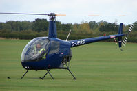 G-JERS @ EGBK - R22 at Sywell