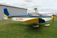 G-CDFL @ EGBG - Zenair CH601UL at Leicester