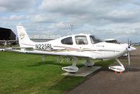 N225RL @ EGBG - Cirrus SR22 at Leicester