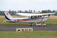 G-XPII @ EGBG - Cessna R172K at Leicester