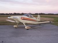 N118KM @ KSFB - !977 Thorp T-18 Parked At South East Ramp KSFB - by Danny A. DeRico New Owner As Of Nov 2008