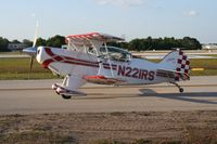 N221RS @ LAL - Pitts S-2B