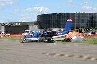 N307V @ LAL - Aero Commander 680