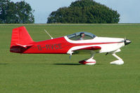 G-RVCE @ EGBK - Visitor to the 2009 Sywell Revival Rally - by Terry Fletcher