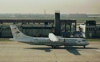 D-ANFF @ EDDF - ATR-72 c/n292 EWG (scanned image) - by Noel Kearney