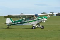 G-BIJB @ EGBK - Visitor to the 2009 Sywell Revival Rally - by Terry Fletcher