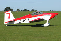 LY-ATZ @ EGBK - Visitor to the 2009 Sywell Revival Rally - by Terry Fletcher