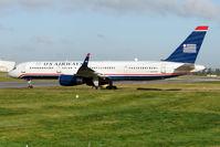 N205UW @ EGBB - US Air  new B757 service into Birmingham