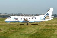 G-LGNM @ EGBB - Loganair / Flybe SF340 at Birmingham