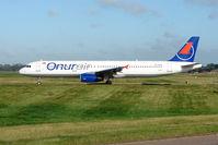 TC-OAN @ EGBB - Onur Air A321 at Birmingham